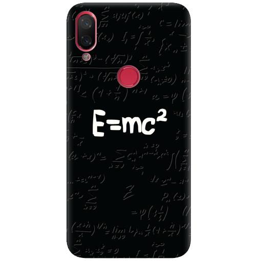 Силиконовый чехол на Xiaomi Mi Play Einstein