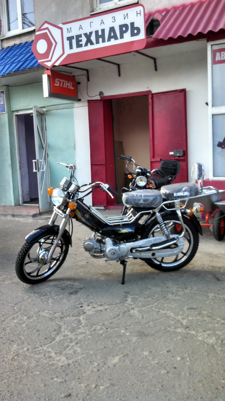 Мопед Kanuni Nostalgia 125cc