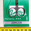 Ножницы Zinger для кутикулы Т080, фото 2