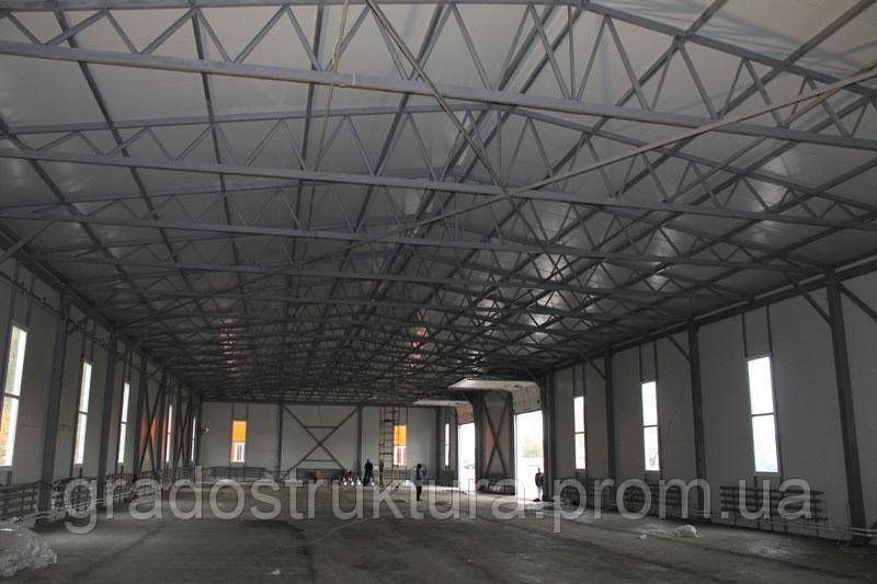 Строительство Ангаров, Складов, Металлоконструкций