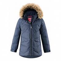 Куртка-пуховик зимний для девочки Reima Leena 531350, цвет 6980