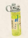 Бутылка спортивная (600 мл) с поилкой и трубочкой, фото 6