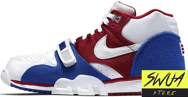 238dd6db Баскетбольные кроссовки Nike Air Trainer 1 Mid PRM QS Puerto Rico -  Оптово-розничная компания