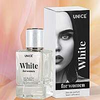 Жіноча парфумована вода Unice WHITE, 50 мл