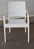 Кресло пластиковое Ibiza, Siesta, Турция, белое