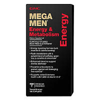 GNC Mega Men Energy & Metabolism 180 caplets