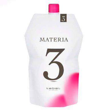 Lebel MATERIA 3%, 1000 мл. Оксидант для смешивания с краской