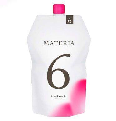 Lebel MATERIA 6%, 1000 мл. Оксидант для смешивания с краской
