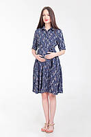Платье для беременных и кормящих White Rabbit Penny темно-синий, фото 1