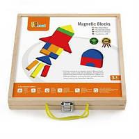 """Набор магнитных блоков Viga Toys """"Формы и цвет"""" (59687)"""