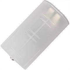 Переходник конвертор Soshine для аккумуляторов (2xAA - D size)