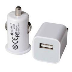 2 в 1 - Зарядное устройство, переходники Энергия ЕН-405 (сеть 220V/прикуриватель 12V - USB)