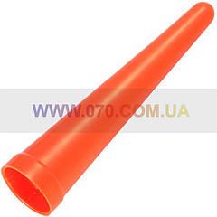 """Диффузор сигнальный """"капля"""" для фонарей Nitecore NTW25 (25mm), красный"""
