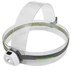 Фонарь налобный Rayfall HP1R (SMD 3535 LED + 2xRed LED, 35 Lumen, 5 режимов, 2xCR2032), белый