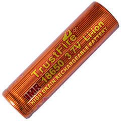 Аккумулятор литиевый Li-Ion IMR 18650 3.7V TrustFire (1500mAh)
