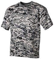 Армейская футболка USA, кам. digital городской, 100 % cotton