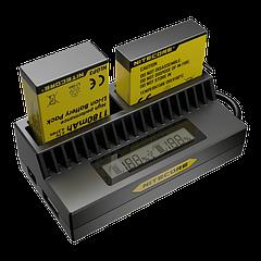 Зарядное устройство Nitecore UGP4 для GoPro Hero 4/3 (AHDBT- 401/301/201)