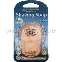 Мыло туристическое для бритья SEA TO SUMMIT Pocket Shaving Soap Eur, зеленый чай