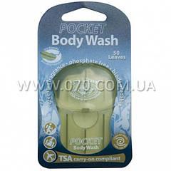 Мыло туристическое SEA TO SUMMIT Pocket Body Wash Soap Eur, зеленый чай
