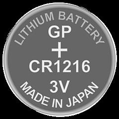 Батарейка дисковая литиевая CR1216 GP 3V