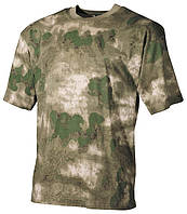 Армейская футболка USA, кам.A-tacs FG, 100 % cotton