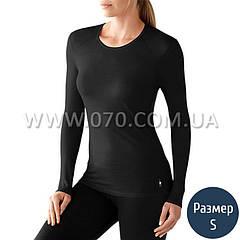 Термокофта женская Smartwool NTS (150 г/м2, S), черная