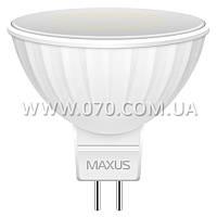 Лампа светодиодная Maxus MR16 (3W, 4100K, 220V, GU5.3)