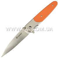 Нож складной Ganzo G743-1 (длина: 200мм, лезвие: 87мм), оранжевый