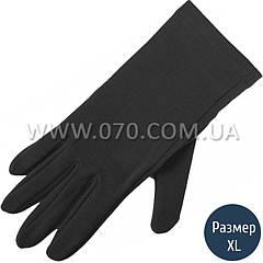 Перчатки шерстяные Lasting Rok, черные (р.L/XL)