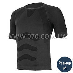 Термофутболка мужская Lasting Abel (150 г/м2, S/M), черная