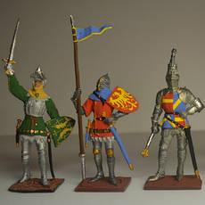Колекційні солдатики та ляльки