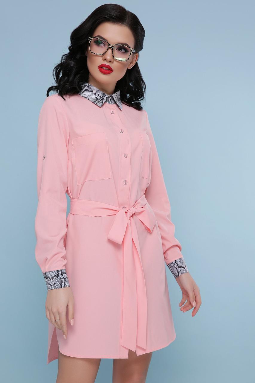 00111c4fa18 Питон Платье-рубашка Аврора Д р L