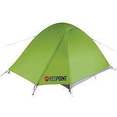 Палатка туристическая трехместная Red Point Space G3 RPT042 (300х220х130см), зеленая