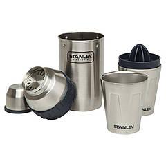 Набор Stanley Happy Hour System (шейкер 0,59л + 2 стакана х 0,2л + пресс для цитрусовых), стальной