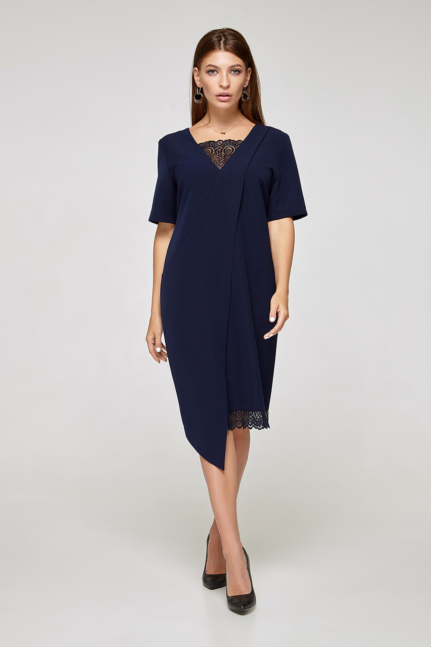 2319 платье Аманда, синий (S)