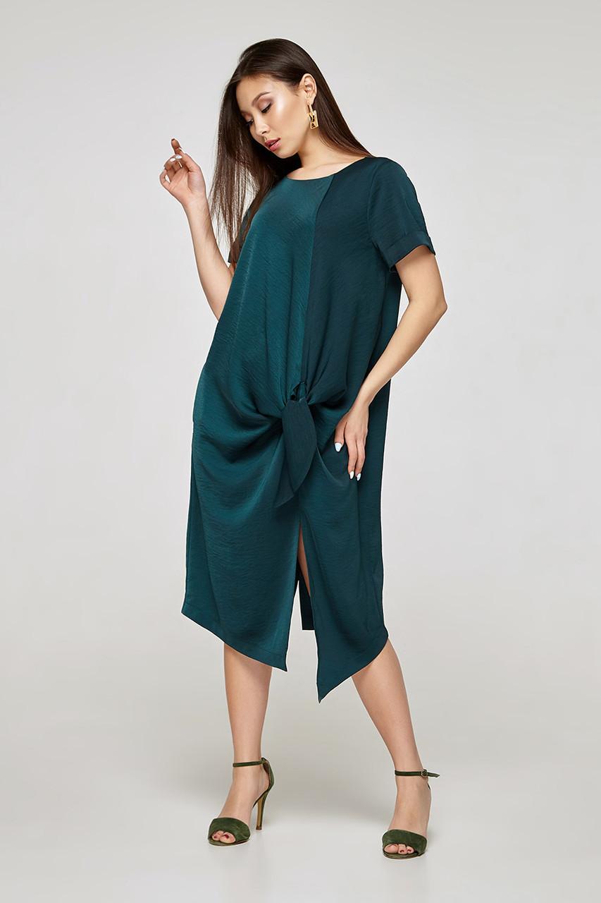 2325 платье Кристал, изумруд (S)