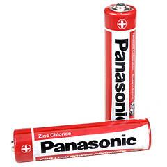 Батарейка солевая AAA (L)R03 Panasonic Red Zinc 1.5V, 4 шт. в блистере