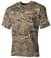Армейская футболка USA, кам.multicam, 100 % cotton