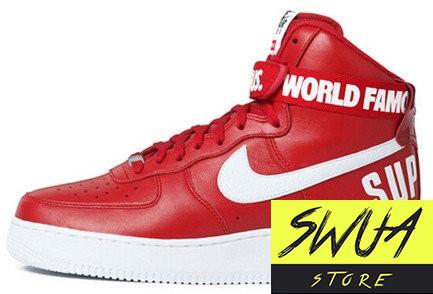 c1495046 Мужские кроссовки Nike Air Force 1 High Supreme Red - Оптово-розничная  компания