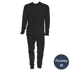 Термокостюм мужской, флисовый Тренд (р.48), черный