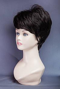 Короткие парики №2,цвет черный натуральный
