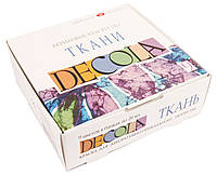 Набор краски для росписи ткани, Decola, 9х20 мл