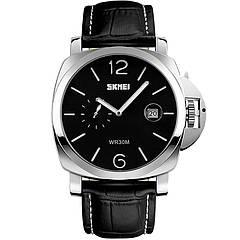 Часы Skmei 1124, черные в металлическом боксе