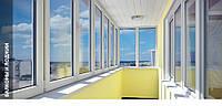 Обустройство и остекление балконов и лоджий