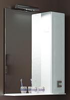 """Зеркало Аква Родос """"Мобис"""" 65 см. с подсветкой, полкой и пеналом"""