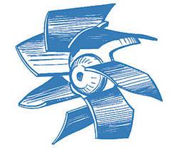 Бытовой вентилятор BLAUBERG Eco 100  (Германия), фото 3