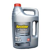 Масло моторное TEXACO HAVOLINE ULTRA V 5W-30 5л, синтетическое моторное масло