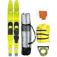 "Водные лыжи  JOBE  Allegre 67"" Combo Skis желтый комплект"
