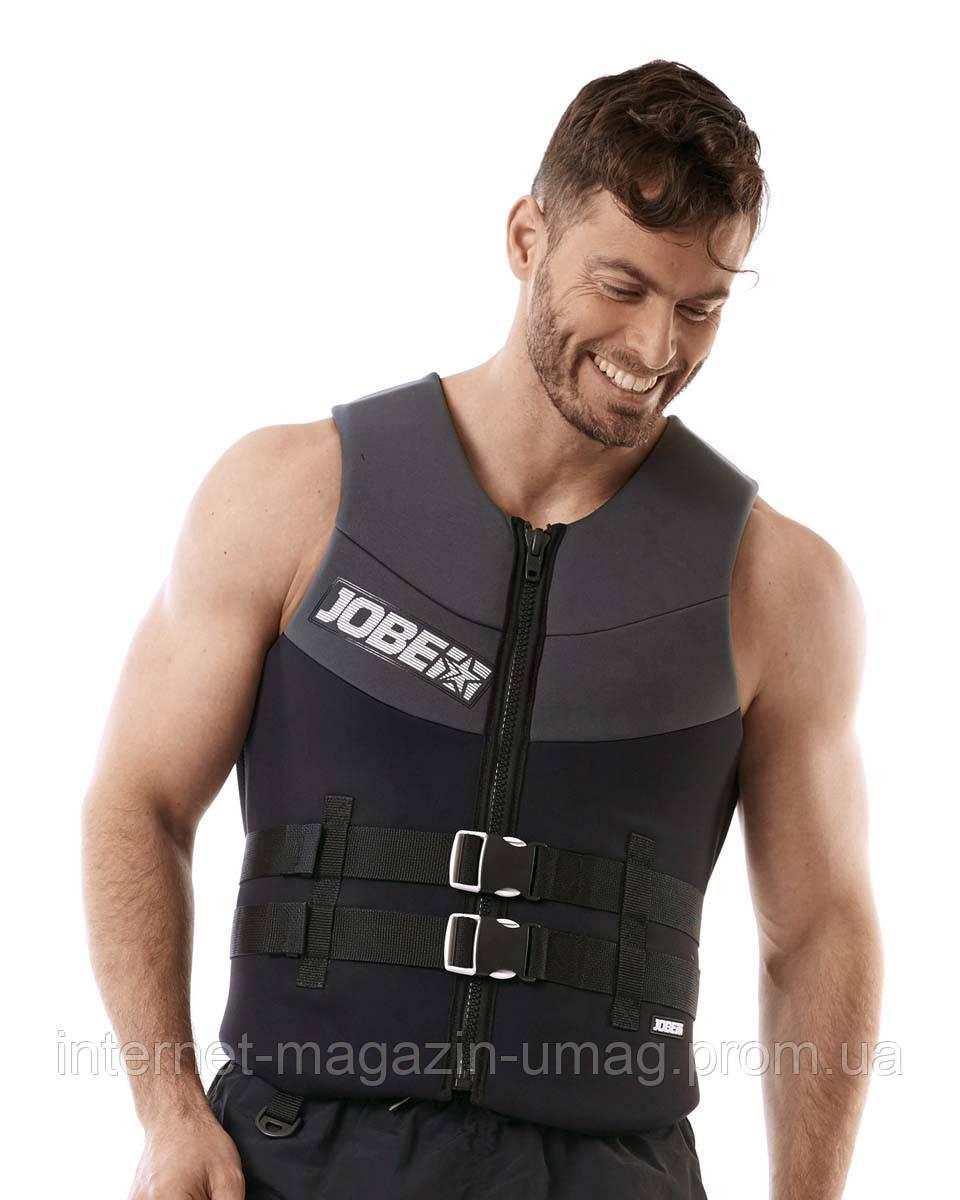 Жилет страховочный мужской JOBE Neoprene Vest M черный