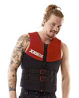 Жилет страховочный мужской JOBE Neoprene Vest S красный